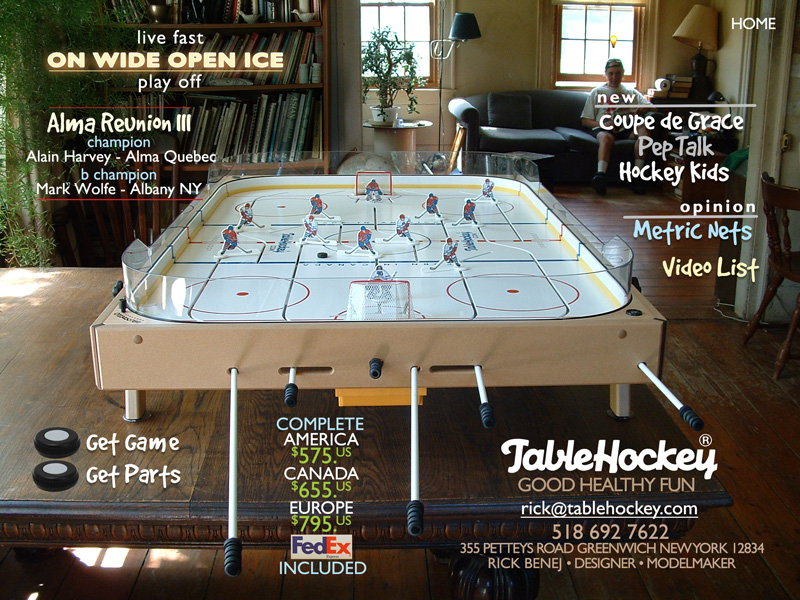 Table hockey home
